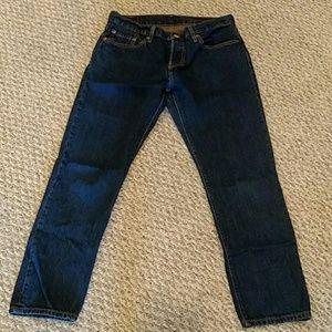 Levi's 501 27x27  jeans.